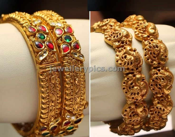 nagas bangles - Latest Jewellery Designs