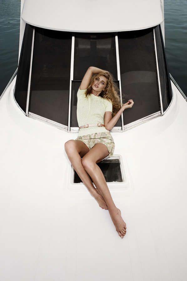 Sleekly Glamorous Yachting Fashion