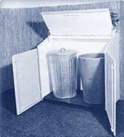 Hide Unsightly Trash Can From Side Of House!