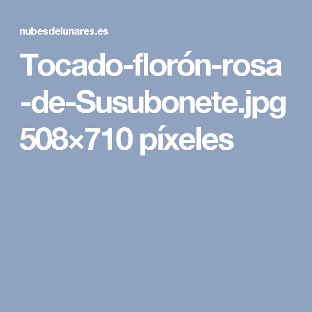 Tocado-florón-rosa-de-Susubonete.jpg 508×710 píxeles