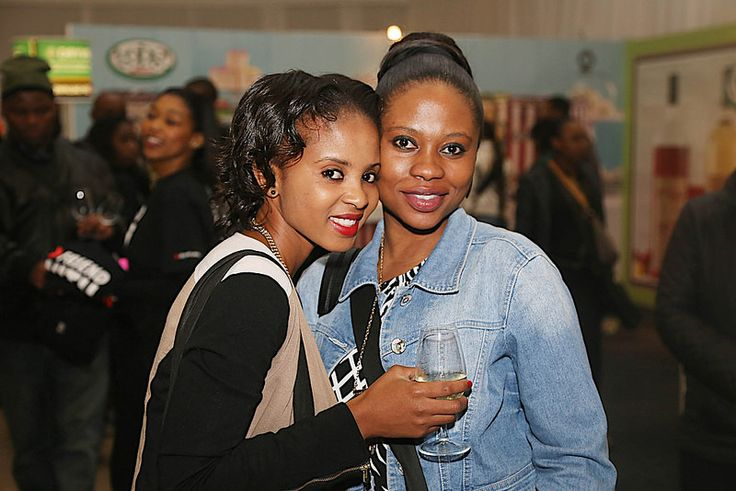 Nonty & Kopano enjoy at the 10th TOPS at SPAR Soweto Wine and Lifestyle Festival