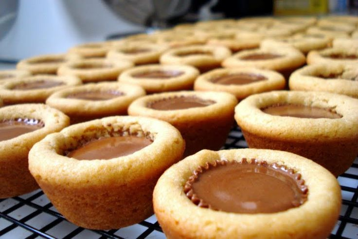 "Peanut Butter Cup Cookies - ""I love them"" @allthecooks #recipe"