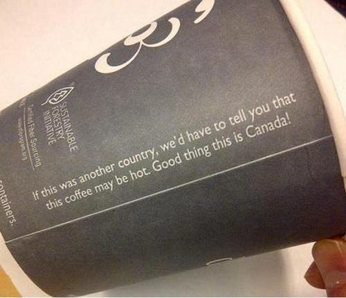#Canadian coffee - haha! #Canada #funny