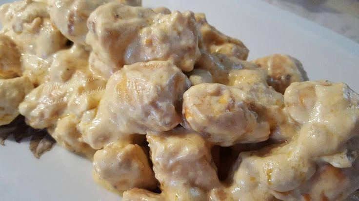 Bocconcini+di+pollo+ai+sapori+d'oriente