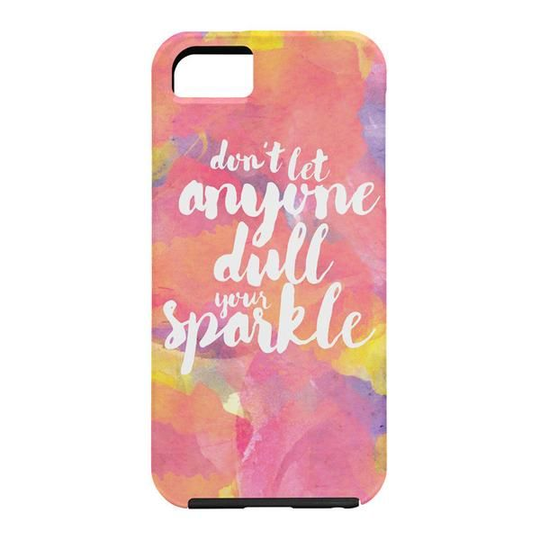 Hello Sayang Dont Let Anyone Dull Your Sparkle Cell Phone Case | DENY Designs Home Accessories