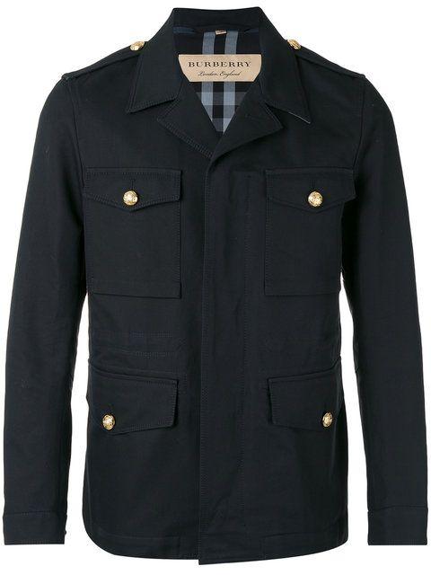 BURBERRY military jacket. #burberry #cloth #jacket