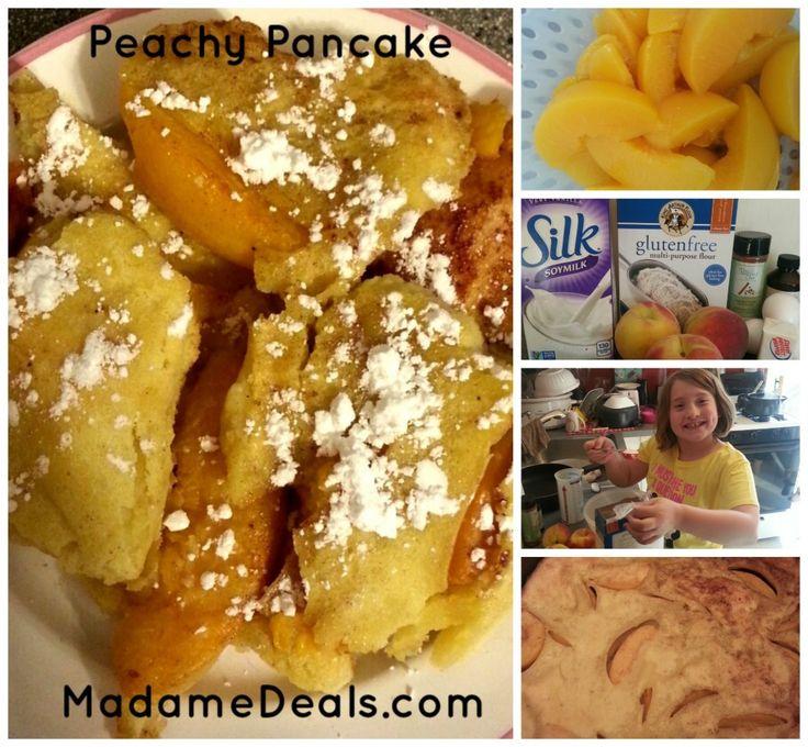Kids Low Fat Recipes : Peachy Pancakes