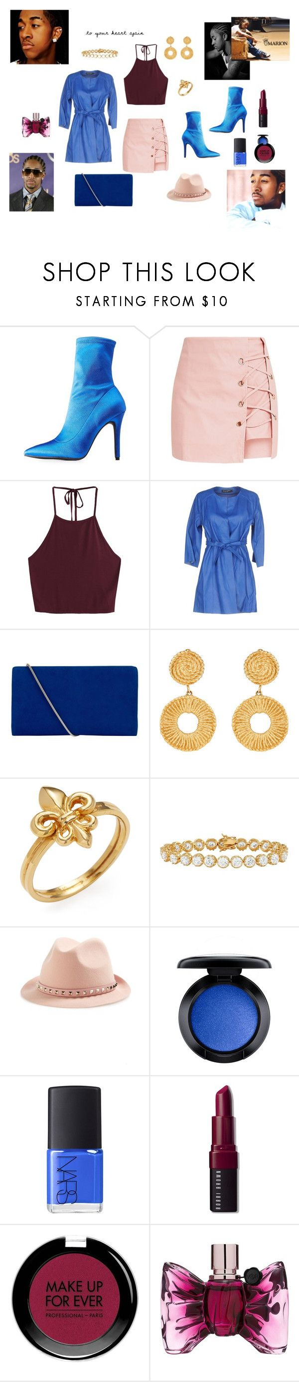 """""""grammys hip pop"""" by vincenza-adamo ❤ liked on Polyvore featuring Børn, Qupid, Street Leathers, Hobbs, Valentino, MAC Cosmetics, NARS Cosmetics, Bobbi Brown Cosmetics, MAKE UP FOR EVER and Viktor & Rolf"""