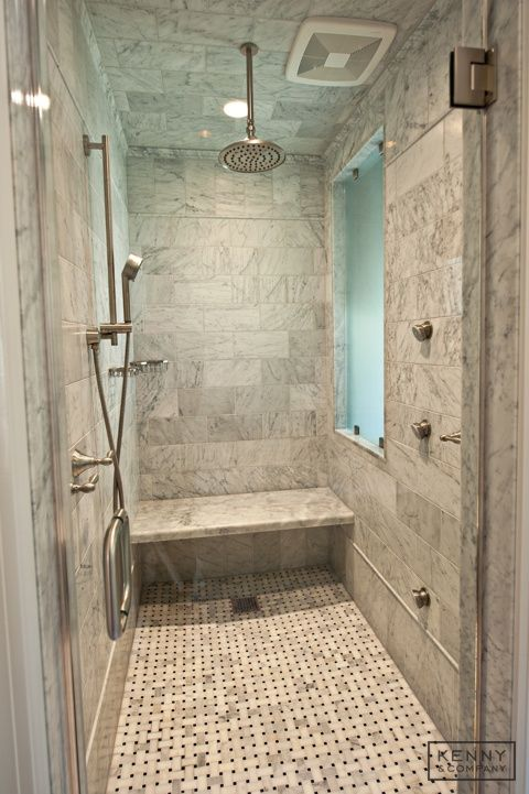 Master Shower Tile With Steam Shower Master