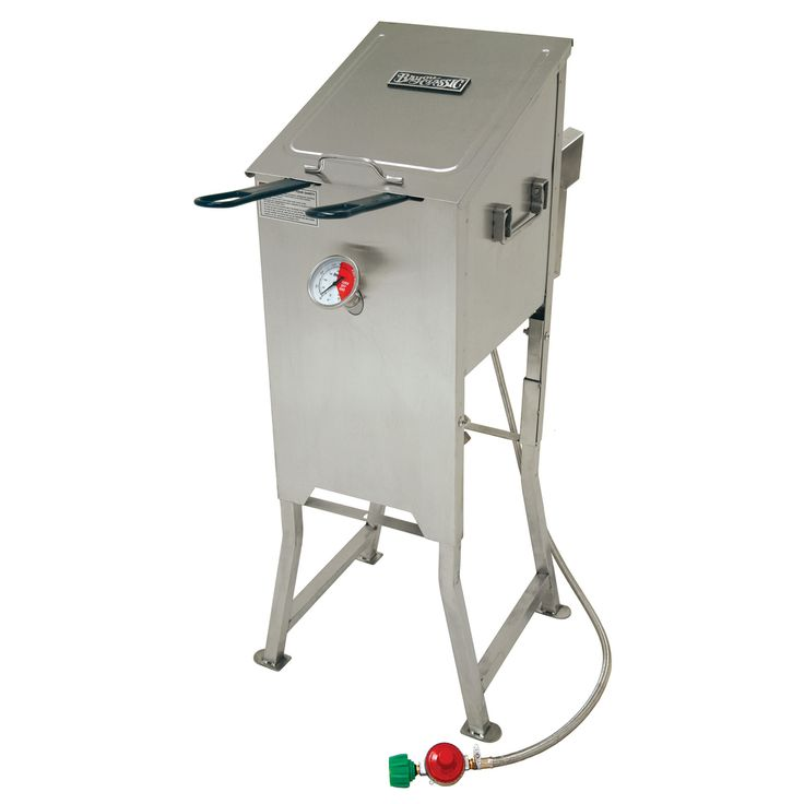 Bayou Classic Stainless Steel 4-gallon Outdoor Stainless Steel Propane Deep Fryer - Overstock™ Shopping - The Best Prices on Bayou Classic Gas Grills
