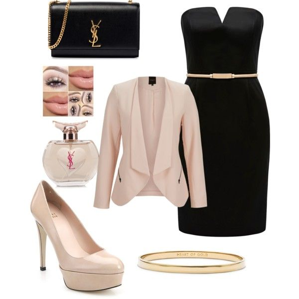 A fashion look from February 2015 featuring Forever New dresses, SELECTED blazers and Stuart Weitzman pumps. Browse and shop related looks.