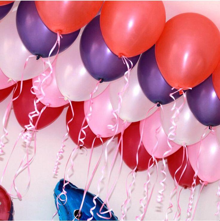 pearlised латекс гелий inflable утолщение жемчужная свадьба день рождения украшение шар