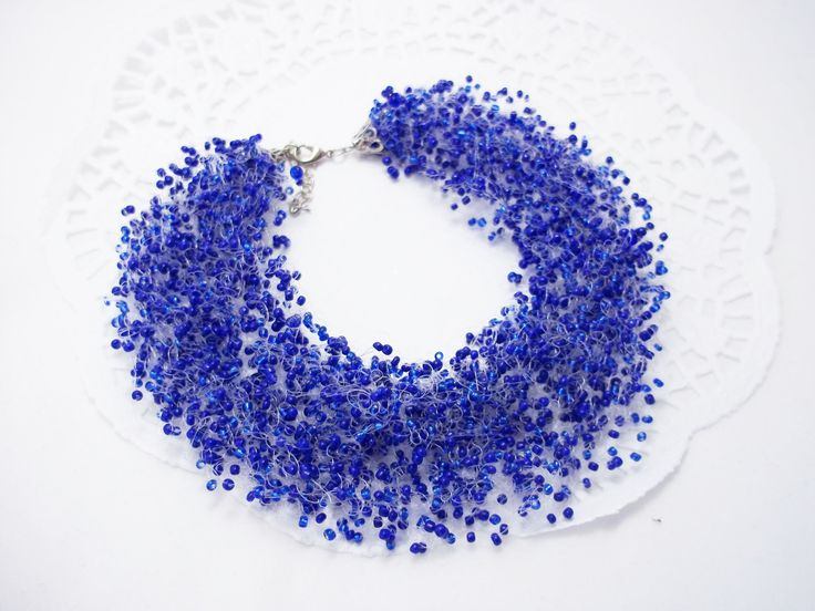 ... gift Navy blue necklace for wedding bridal gift ideas for women