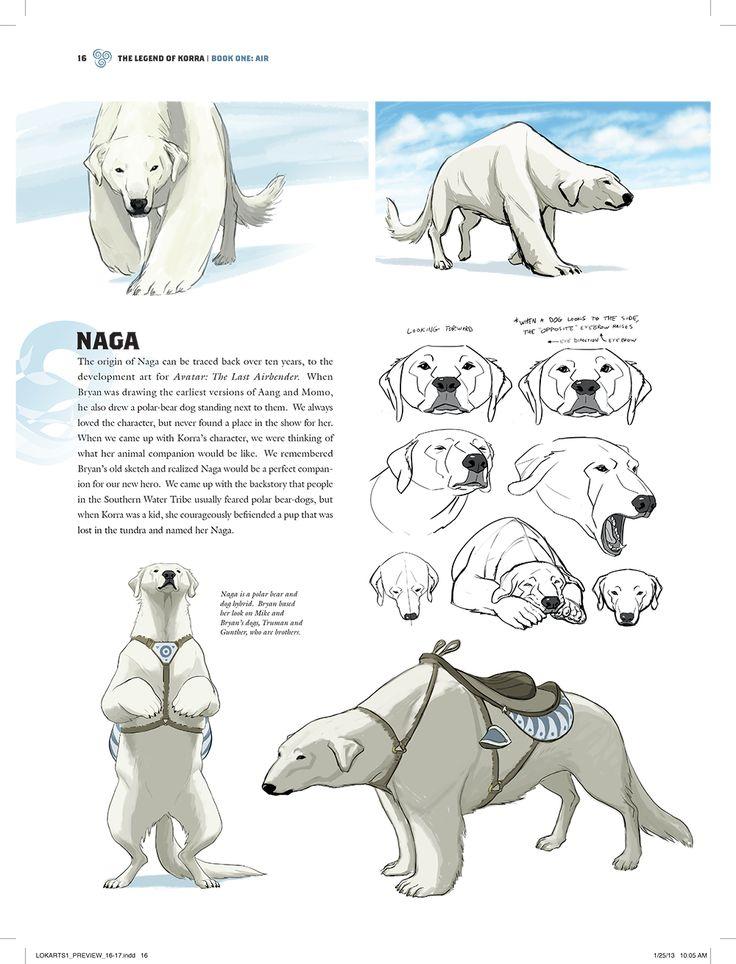 Korra: The Art of Animated Series | Estado Avatar: La Leyenda de Korra ONLINE* NAGA