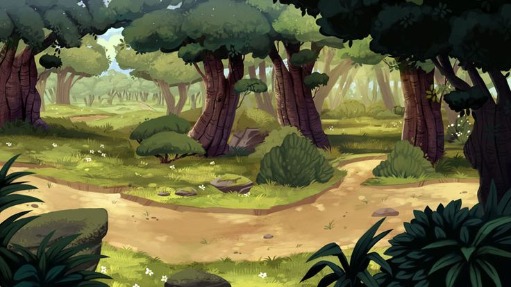 Backgrounds - Forest by Scummy on DeviantArt