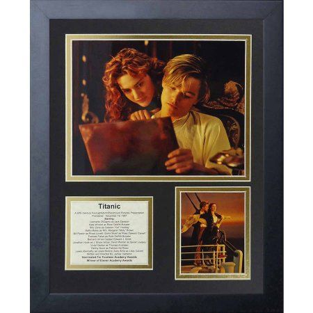 Legends Never Die Titanic Jack and Rose Framed Photo Collage, 11 inch x 14 inch