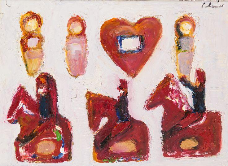 Schéner Mihály (1923-2009) Eszterkének szív küldi (1974)