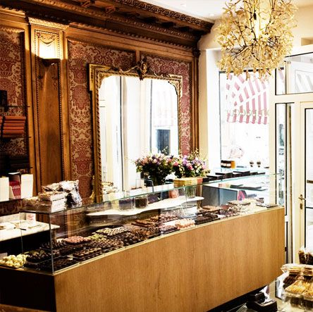 Pompadour - Tearoom, the best, and yes I've tried many, financiers in Amsterdam