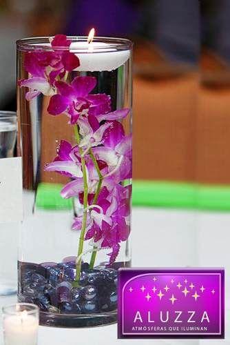 Centro De Mesa Para Boda ....$95+ flor