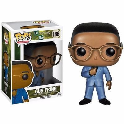 You really can't judge a book by its cover in the case of Gustavo Fring. Los Pollos Hermanos owner, philanthropist, and drug kingpin Gustavo Fring comes to you as a Pop! Vinyl Figure! Fans of Breaking Bad will definitely love this Gustavo Fring Pop! Vinyl Figure as he stands 3 3/4-inches tall in his blue suit and yellow glasses! #funko #popvinyl #actionfigure #collectible #GustavoFring