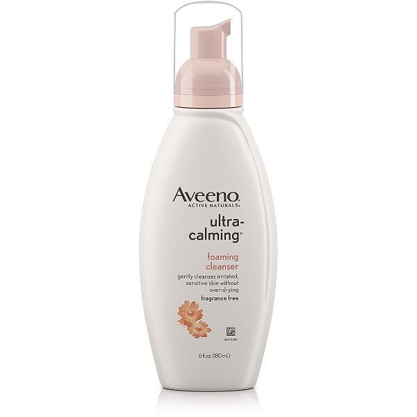 OMG. Gotta have this: Aveeno Ultra-Calming Foaming Cleanser