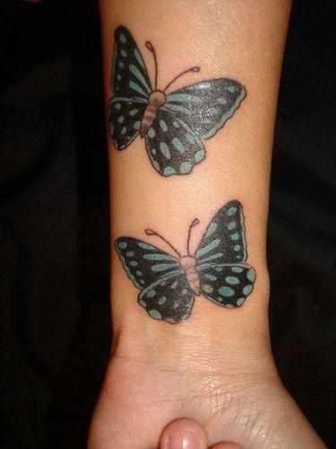 Butterfly Wrist Tattoos