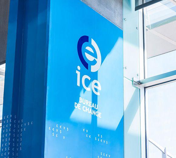 LEMAYMICHAUD   INTERIOR DESIGN   ARCHITECTURE   MONTREAL AIRPORT   Kiosques ICE – Aéroports Montréal-Trudeau