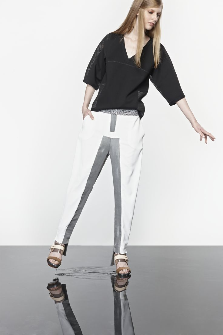 NUBU AGER top / NUBU ERPO trousers