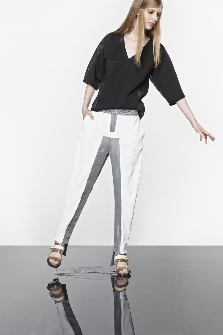 NUBU AGER top / NUBU ERPO trousers