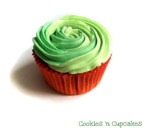 Watermeloen Cupcakes