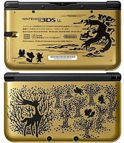 Pokemon XY 3DS LL - Gold