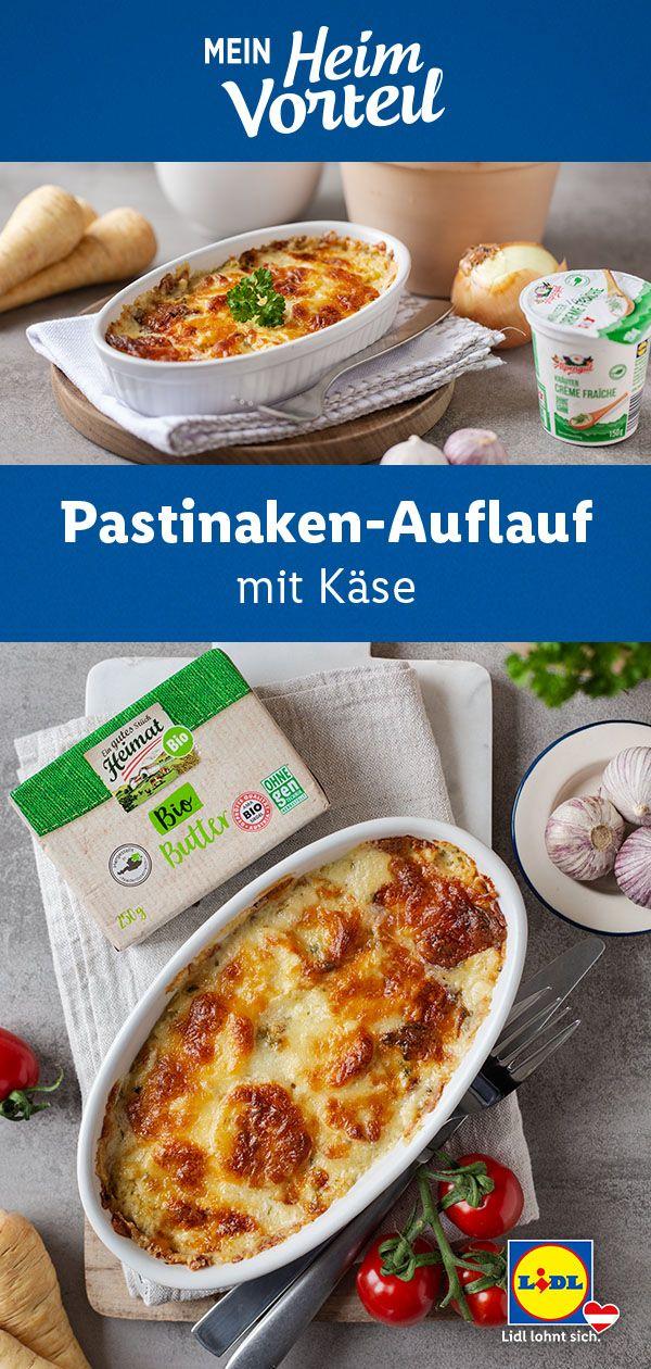 Pastinaken Auflauf Mit Kase In 2020 Pastinaken Vegetarisches Essen Rezepte