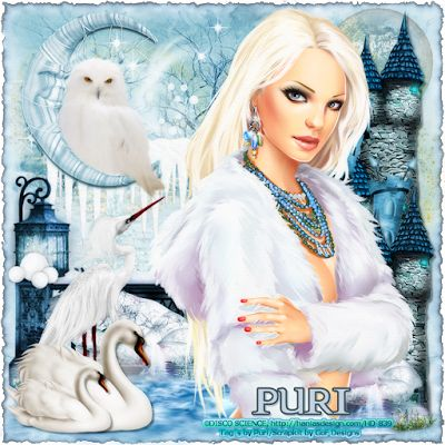 """MI RINCÓN GÓTICO: CT GRAPHICS OF FANTASY, """"Barbie - Winter Queen"""""""