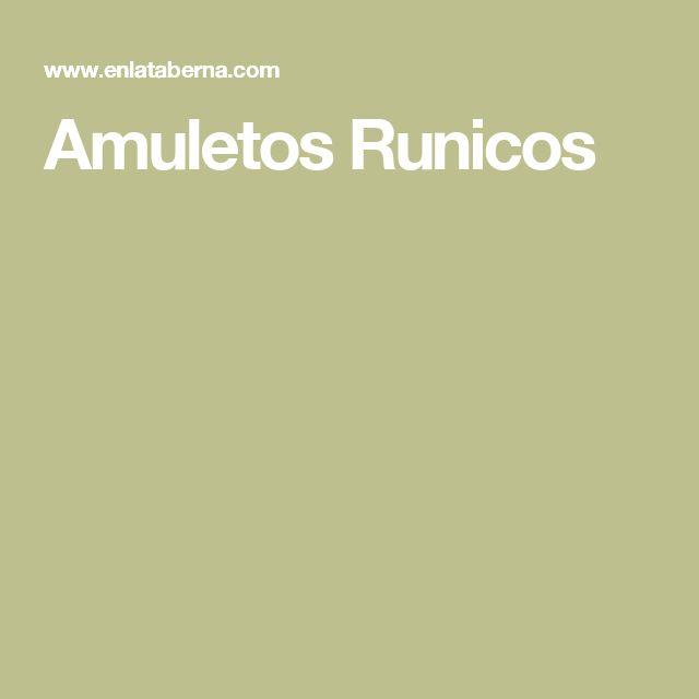 Amuletos Runicos