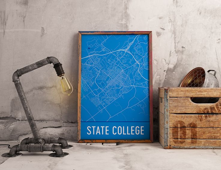 Best Best Of Modern Map Art Images On Pinterest Map Art - Us college map poster