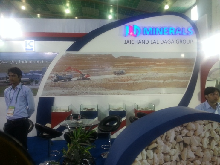 JLD Minerals in Indian Ceramics 2013 - Exhibition