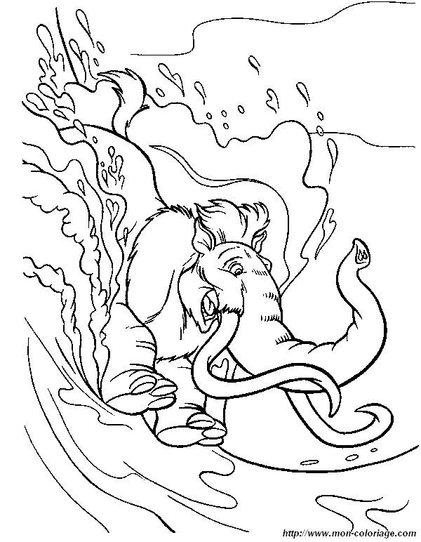 Ice Age Coloring Page 31 Is A From BookLet Your Children Express Their Imagination When They Color The