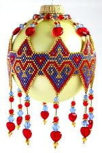 Patterns to Bead Heirloom Ornaments Deb Moffett-Hall