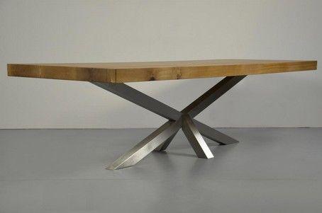 die besten 17 ideen zu tischgestell stahl auf pinterest. Black Bedroom Furniture Sets. Home Design Ideas