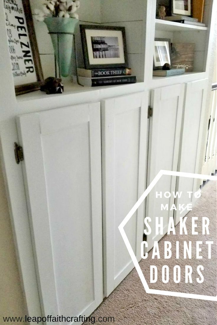 The Easiest Way To Make Shaker Cabinet Doors I Diyed That