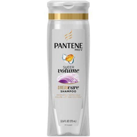 Pantene Pro-V Silicon Free Shampoo Volume, 12.6 OZ, Multicolor