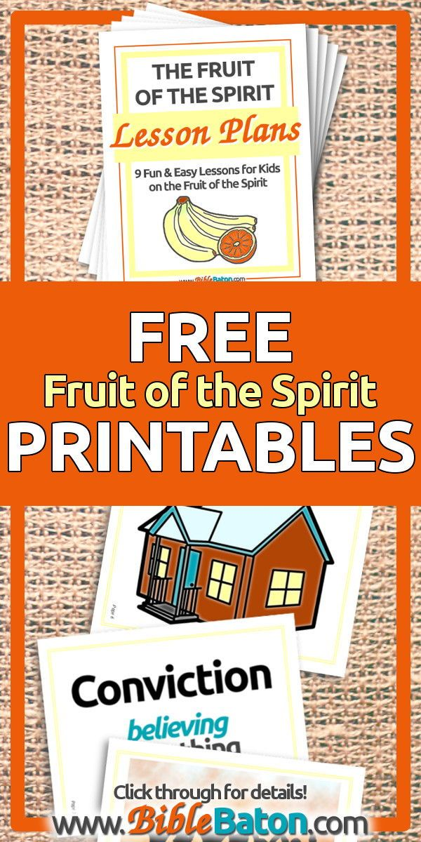 photo regarding Free Printable Children's Church Curriculum named Totally free Fruit of the Spirit Lesson Systems for Small children Fruit of