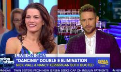 "cool Nick Viall, Nancy Kerrigan ""Dancing With The Stars"" Elimination Interview On ""GMA"" (VIDEO)"