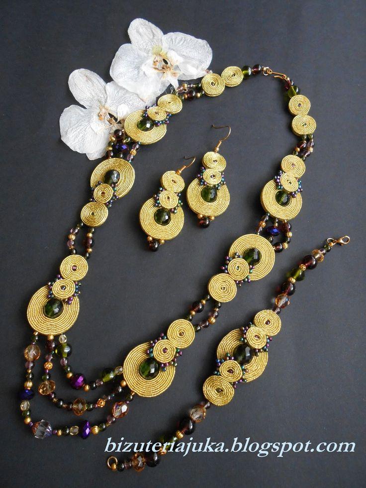 JuKa - Ręcznie robiona biżuteria sutasz i nie tylko...