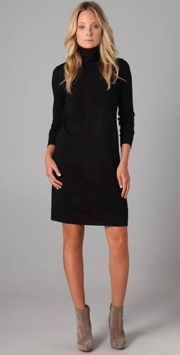 dkny: Cocktails Dresses, Dresses Dkny, Grey Booty, Turtleneck Dresses, Prom Dresses, Little Black Dresses, Black Essential, Dkny Black, Grey Boots