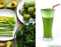 Najzdrowsze koktajl świata - Koktajl z selera, kiwi i avocado - Motywator Dietetyczny
