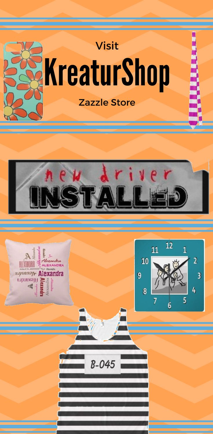 Take a look a KreaturShop Zazzle Store. Find the design on product like pillow, t-shirt, keychain, iphone case, Samsung case, cups, wallets and more.