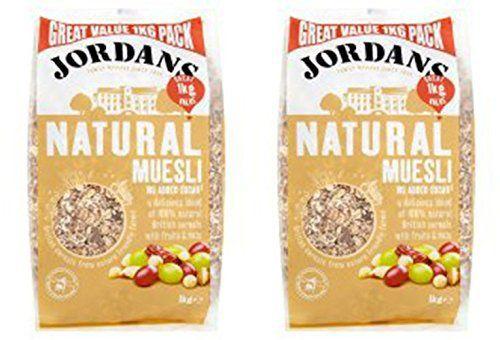 (2 Pack) - Jordans - Natural Muesli | 1000g | 2 PACK BUNDLE - http://sleepychef.com/2-pack-jordans-natural-muesli-1000g-2-pack-bundle/