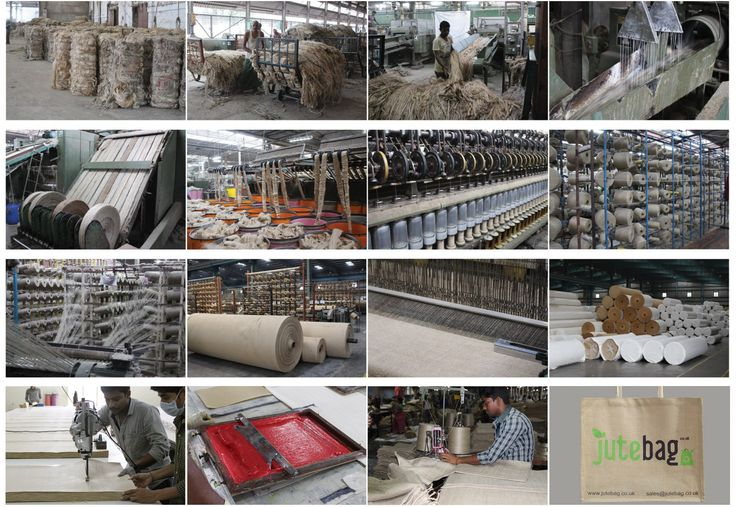 Processing Jute Material    The process of making jute fabric from initial plant to woven jute material.