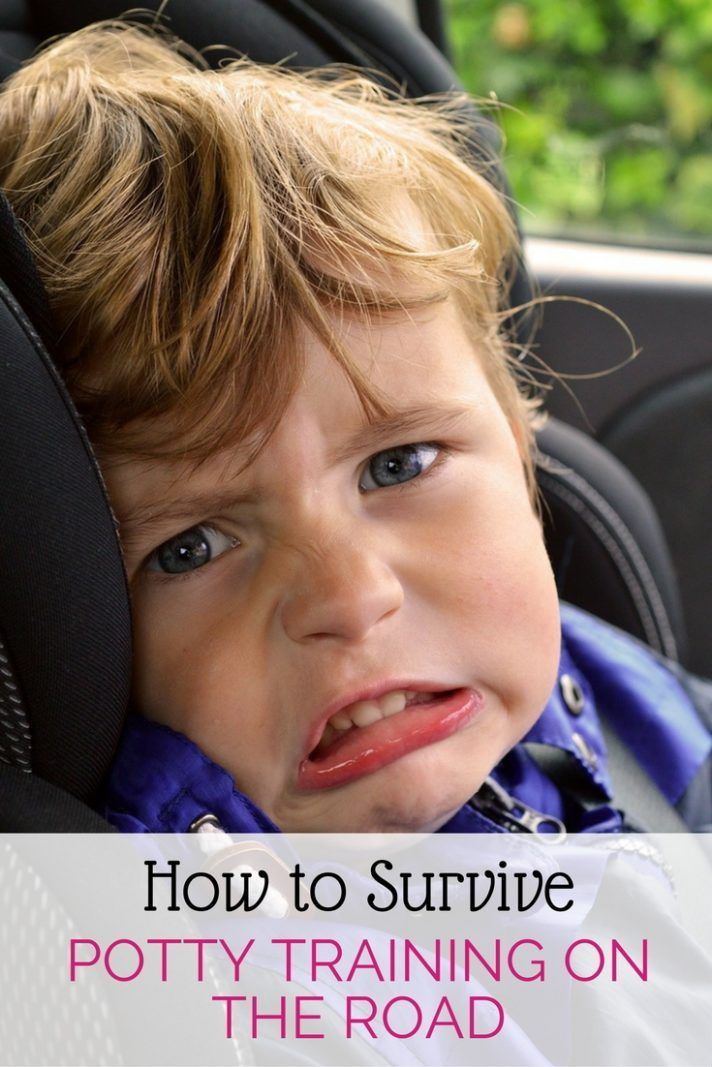 Do you have a potty training toddler? Are you planning a road trip? You will want to read these tips from moms who have been there, done that and survived potty training.